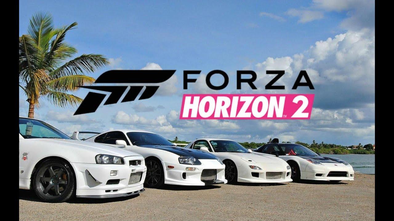 jdm meet forza horizon 2 fast
