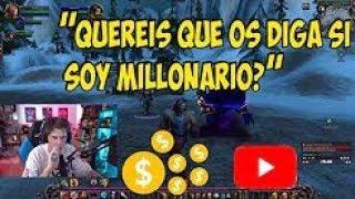 RUBIUS HABLA DE SI ES MILLONARIO, YouTube y Twitch