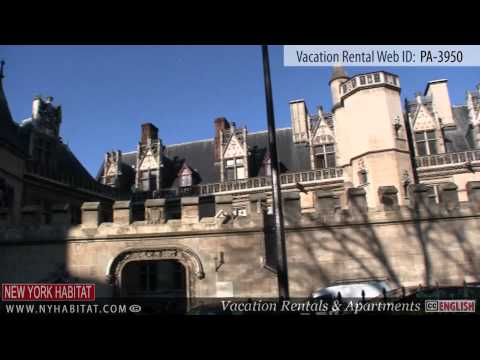 Paris, France - Video tour of a vacation rental near the Luxembourg Garden (Rue Cujas)