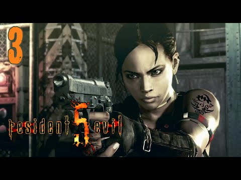 [3] Resident Evil 5 Co-op w/ Dude Shortcouch - HE'S IN CRAZY MODE - Let's Play Gameplay (PC)