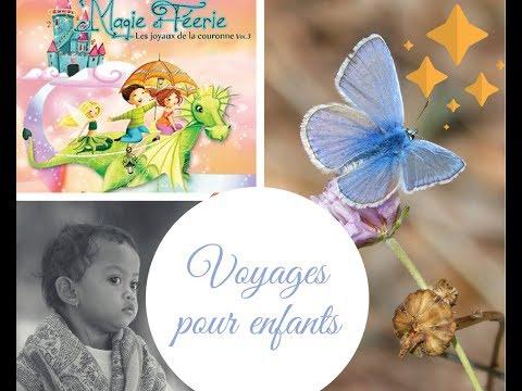 Voyage guidé pour enfants : les papillons magiques