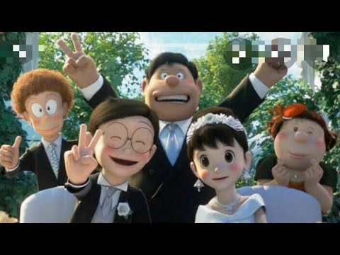 Download nobita and shizuka wedding movie in hindi/nobita and sizuka getting married