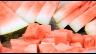 How to Cut a Watermelon - Melon Slicing Tricks & Tips for Cutting Melons