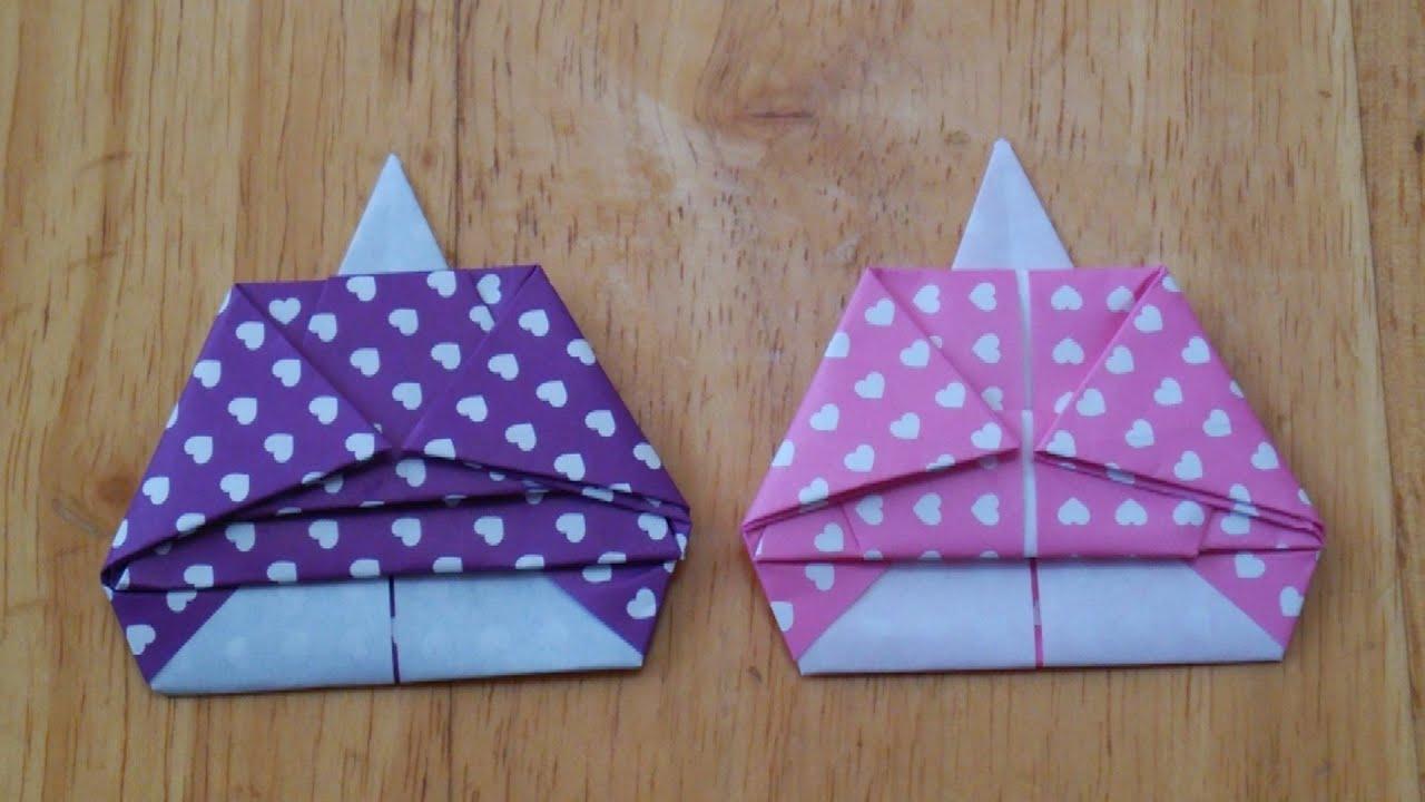 折り紙 お雛様 折り 方