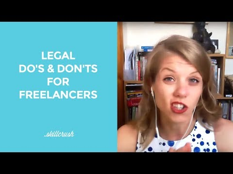 Legal Do's and Don'ts for Freelancers