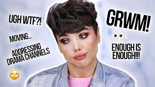 connectYoutube - CHIT CHAT GRWM: Addressing HATE Channels, Moving, & My OWN Clothing Line?! | Thomas Halbert