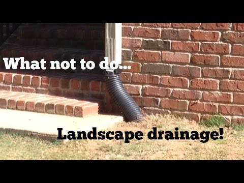 French Drain Tips  Avoid these Mistakes