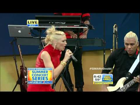 No Doubt - It's My Life [Good Morning America 27 July 2012] HD 720p