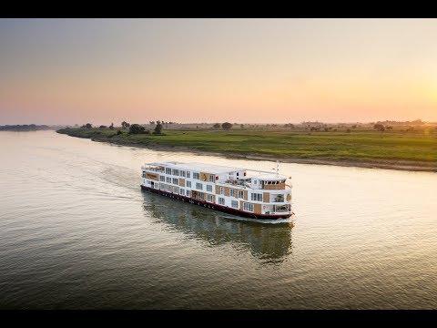 Luxury Strand Cruise on the Ayeyarwady River, Myanmar - Unravel Travel TV