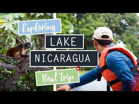 Exploring Lake Nicaragua // Monkeys! // NICARAGUA