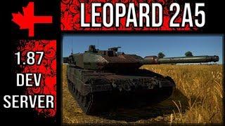 War Thunder Dev Server - Update 1.87 - Leopard 2A5
