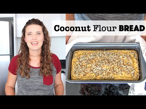 how-to-make-coconut-flour-bread---2-methods