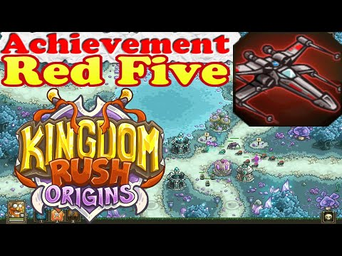 Kingdom Rush Origins - Achievement Red Five - Complete any stage with 5 active arcane sentinels  