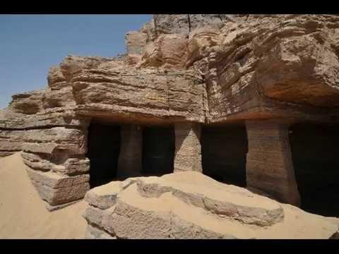 Hipogeos arquitectura egipcia youtube for Arquitectura de egipto