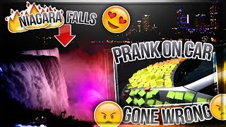 1200 STICKYNOTES PRANK GONE WRONG | Niagara Falls || Telugu Vlogs || Harsha.x3