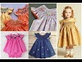 Kids Baby Girl Smocked Frocks Dress Outfit Design Ideas 2019-20