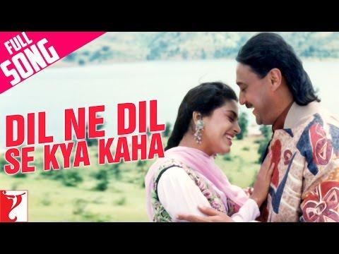 Dil Ne Dil Se Kya Kaha - Full Song | Aaina | Jackie Shroff | Juhi | Nitin Mukesh | Lata Mangeshkar