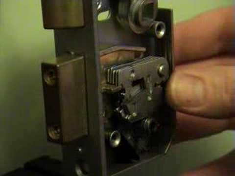Mortice Picked Era 5 Lever Curtain Youtube