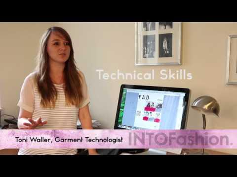 Toni Waller, Garment Technologist