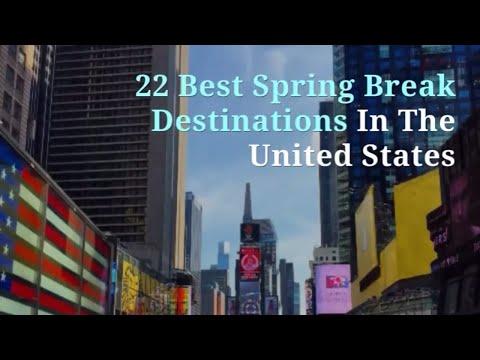 22 Best Spring Break Destinations In The United States