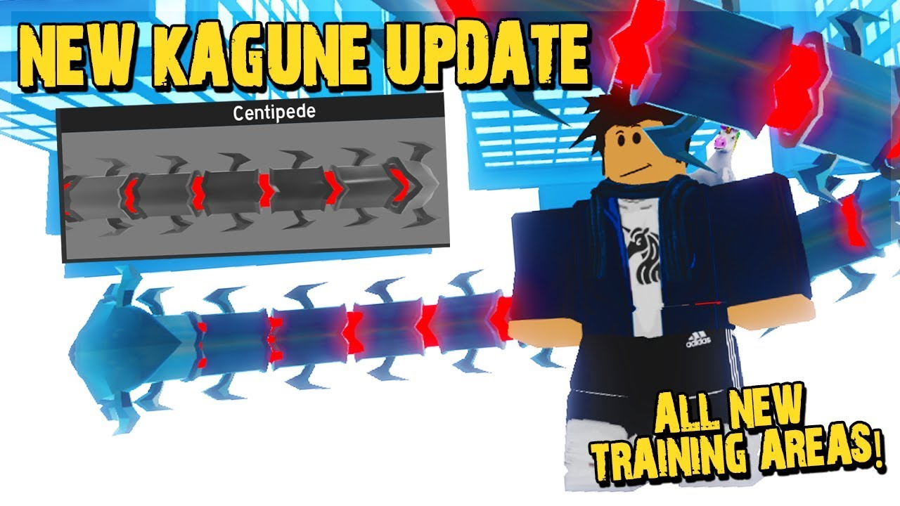 NEW KAGUNE UPDATE WITH ALL NEW 100T TRAINING AREAS *I ...