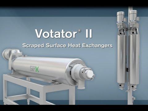 SPX FLOW – WCB Votator II Scraped Surface Heat Exchanger Animation