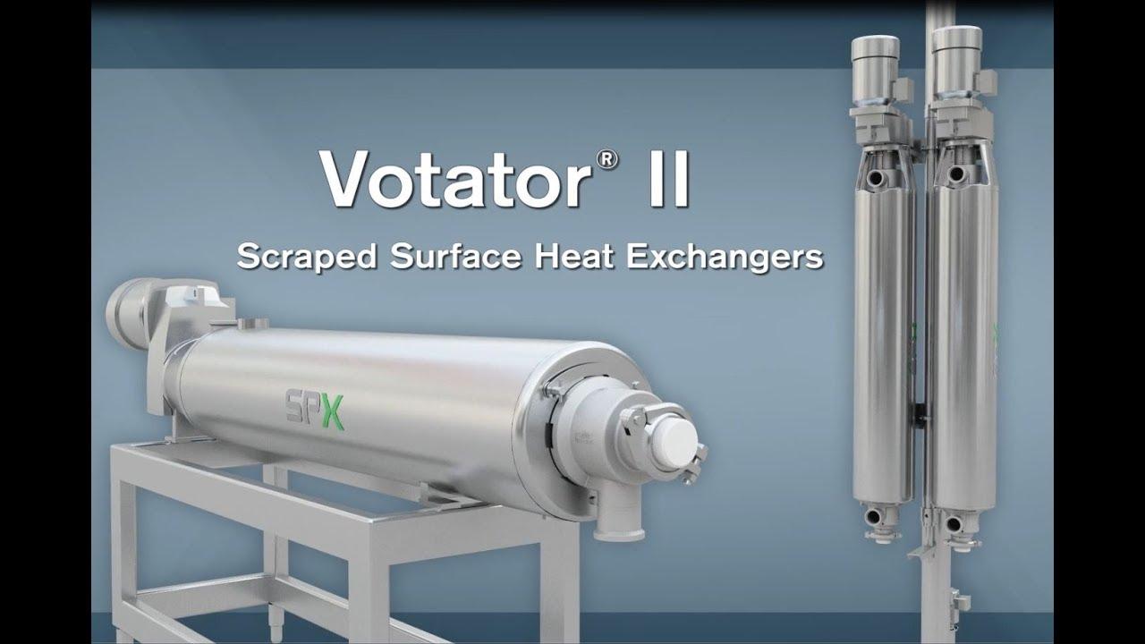 SPX FLOW – WCB Votator II Scraped Surface Heat Exchanger Animation ...