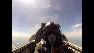 My first hour of jet training on a L39 Albatros Jet