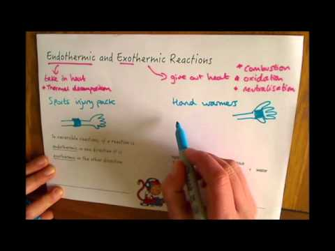 Additional Chemistry (C2) Endothermic and Exothermic Reactions