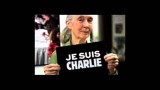 Pour la liberté, je suis Charlie. Dr. Jane Goodall