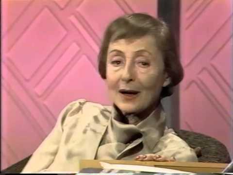 Luise Rainer, Charlotte Chandler, Joe Franklin Show, 1981