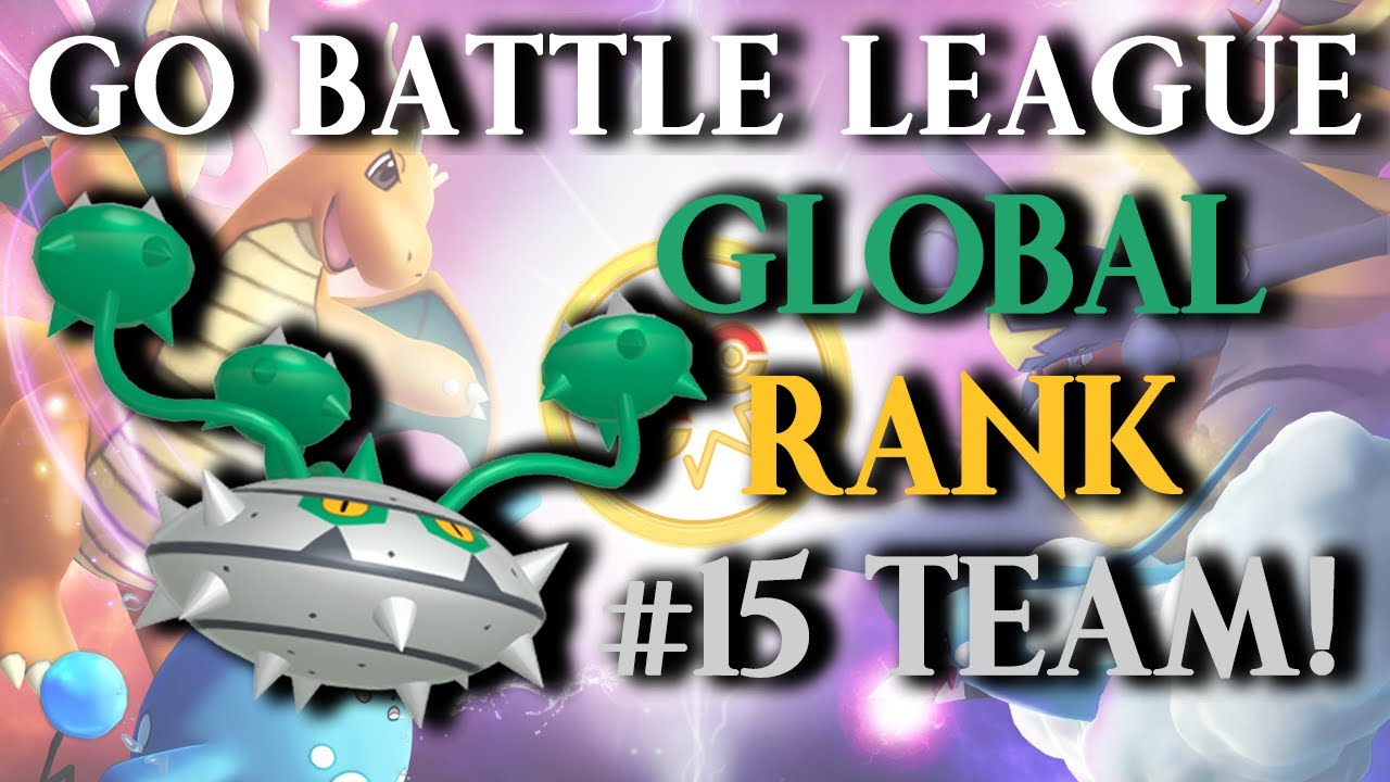 GO Battle League: DOUBLE GRASS 2.0 - Reaching #15 on the Leaderboards! (Great League)