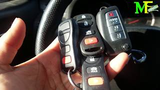 How to Set Up A New Key Remote To Your Car. (Lost Or Stolen Remote) 2005 Infinity G35