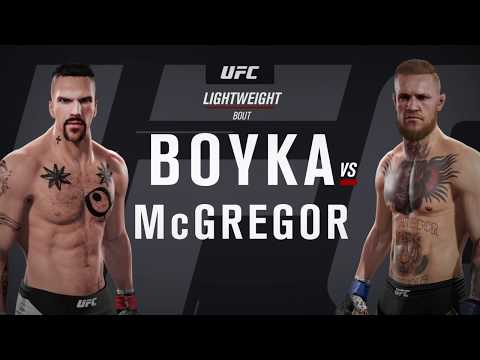 Yuri Boyka vs. Conor McGregor (EA Sports UFC 2)
