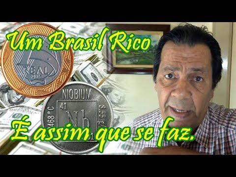 Um Brasil rico é assim que se faz.