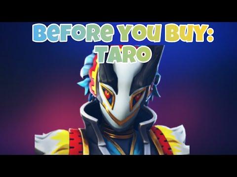 Fortnite Taro Skin Review And Showcase | Before You Buy
