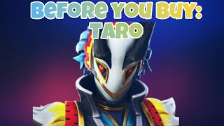 Fortnite Taro Skin Review and Showcase | Before You Buy