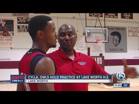 FAU Basketball Holds Practice At Lake Worth High School