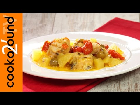 Baccal in umido con patate ricetta youtube for Ricette con patate