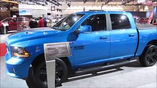2018 RAM Hydro Blue Sport Crew Cab 4X4 - at LA Auto Show 2017