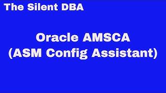 Oracle ASMCA