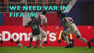 WE NEED VAR IN FIFA 19! Come on FIFA18, how is this a penalty? | FIFA 18 World Cup gameplay|