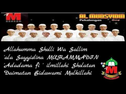 Al Munsyidin Terbaru - Sluku Sluku Bathok