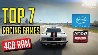 Top 7 Racing Gaṁes for 4GB Ram PC/Laptop