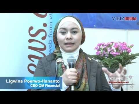 Bussiness Management Ligwina Poerwo-Hananto CEO QM Financial