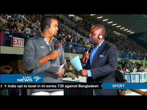 Akani Simbine wins the men's 100m Athletics Grand Prix series