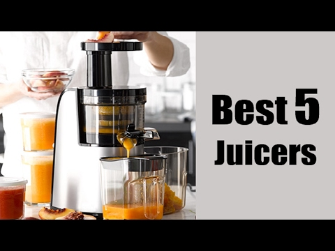 Best 5 Juicers In 2017 | Best 5 Juicer Reviews| Best Rated Juicers