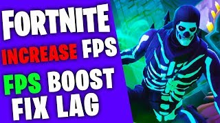 FORTNITE - FPS BOOST FOR LOW END PCs / LAPTOPS INCREASE FPS GUIDE SEASON 6
