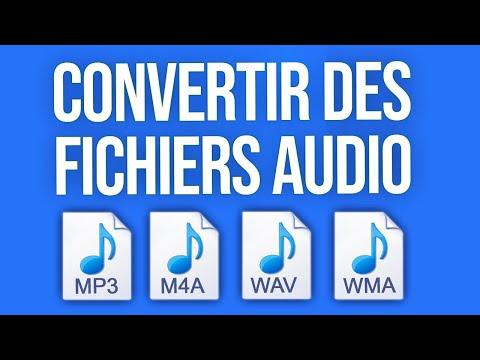 Comment Convertir un Fichier Audio d'un format à un autre (MP3, WAV, M4A, ...)