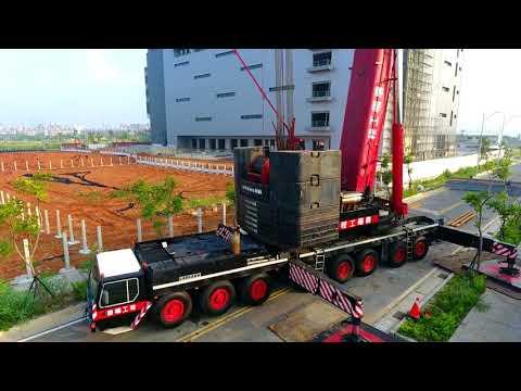 唐福工程LIEBHERR LTM1500空拍紀錄